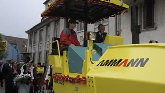 Langenthal feiert seinen Bundesrat Johann Schneider-Ammann