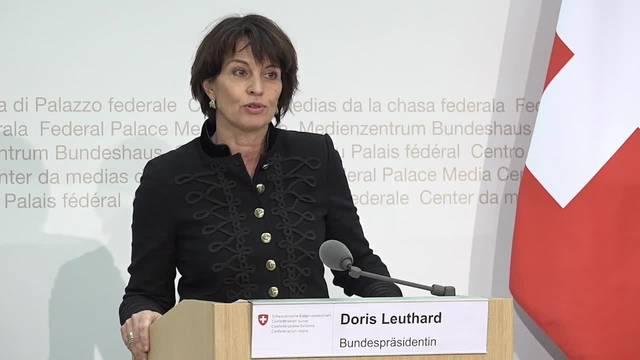 Der Bundesrat wirft der EU Diskriminierung vor