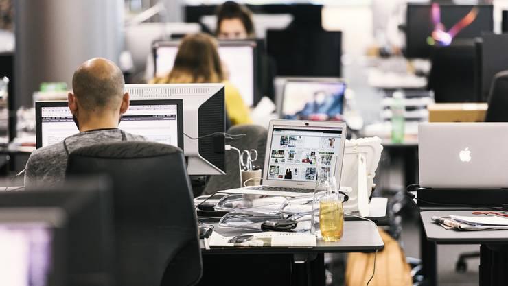 In den Büros der Limmattaler Zeitung wird fleissig geschrieben. (Symbolbild)
