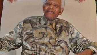 Der 91-jährige Nelson Mandela
