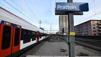 Von Pratteln hat man mindestens 24 Minuten bis zum Badischen Bahnhof.