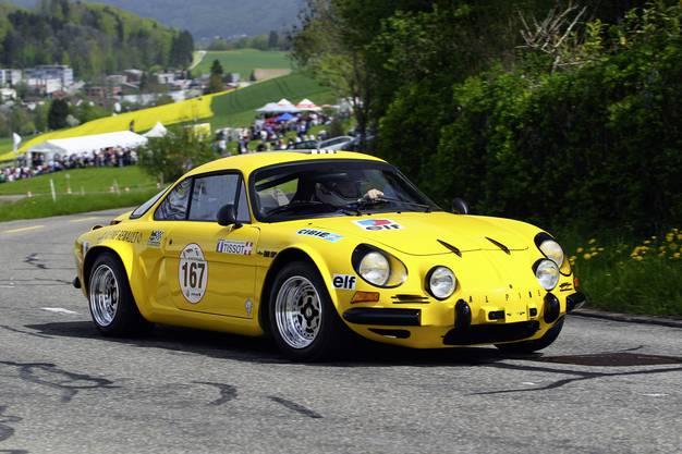 Der Alpine Renault von Markus Michel.