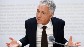 Ihm droht Zwangsurlaub: Bundesanwalt Michael Lauber.