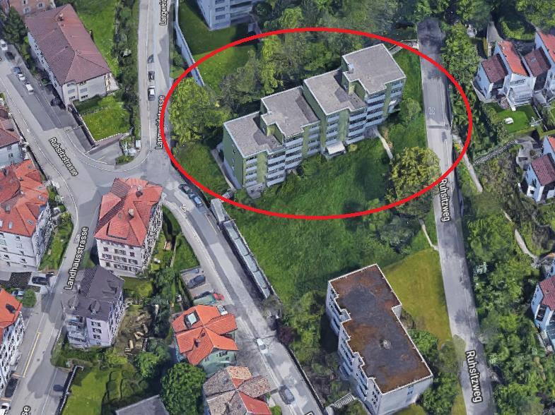 Gemäss Mediensprecher der Polizei besteht für die Bevölkerung keine Gefahr. (© Google Maps)