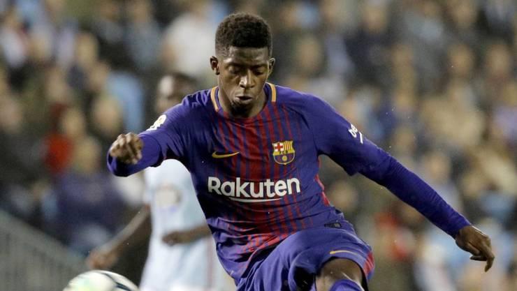 Ousmane Dembélé trifft beim Remis für Barcelona