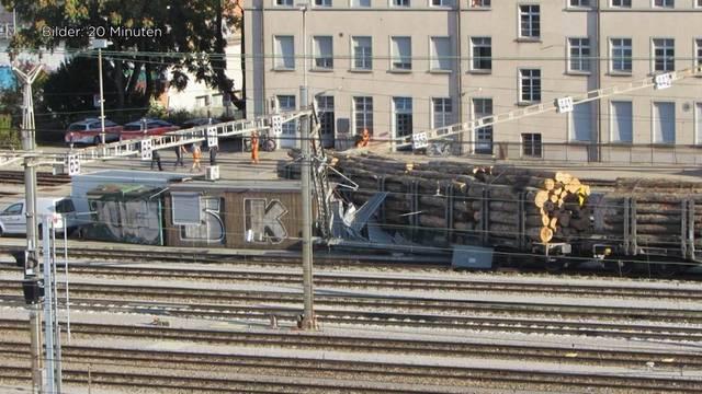 Am Bahnhof Bern kommt es erneut zum Ausfall
