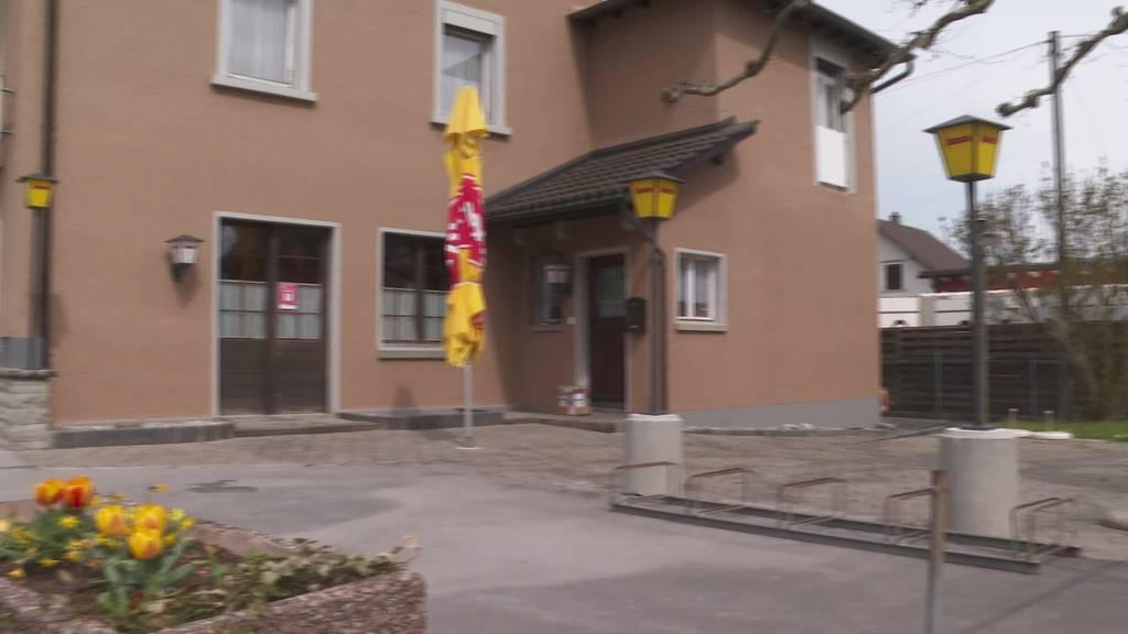 Fehlstart: Polizei schliesst Restaurant Rössli im Rheintal