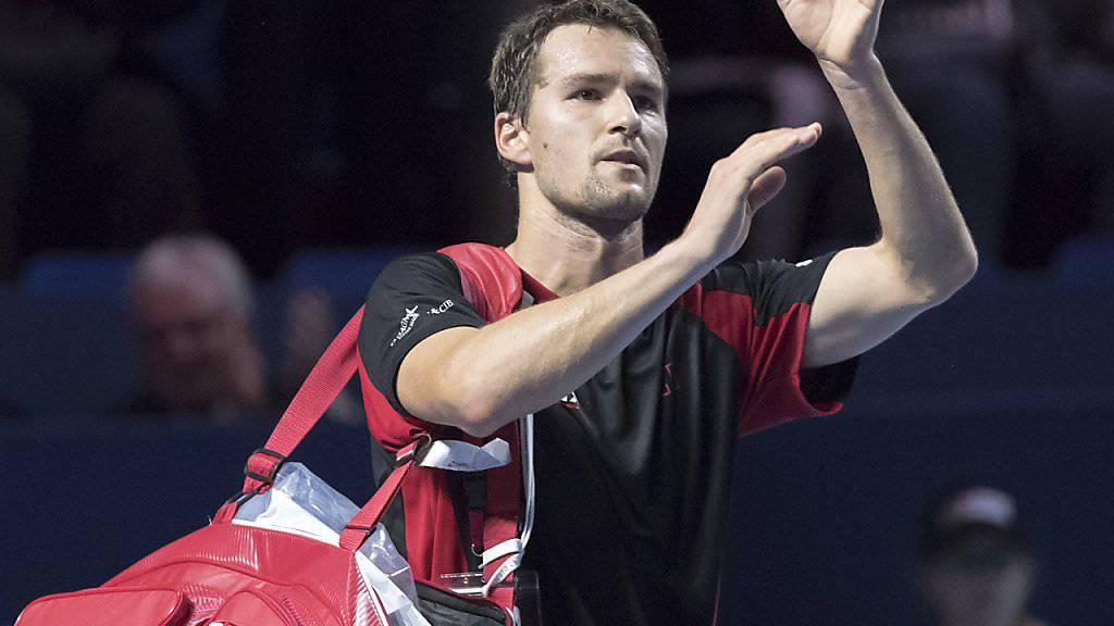 Der Schweizer Davis-Cup-Spieler Marco Chiudinelli hat 2017 noch keine Partie gewonnen