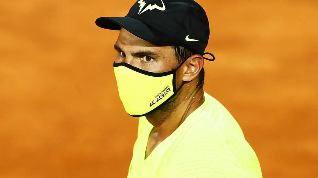 Rafael Nadal bekundet nach seiner langen Spielpause am Turnier in Rom keine Anlaufschwierigkeiten