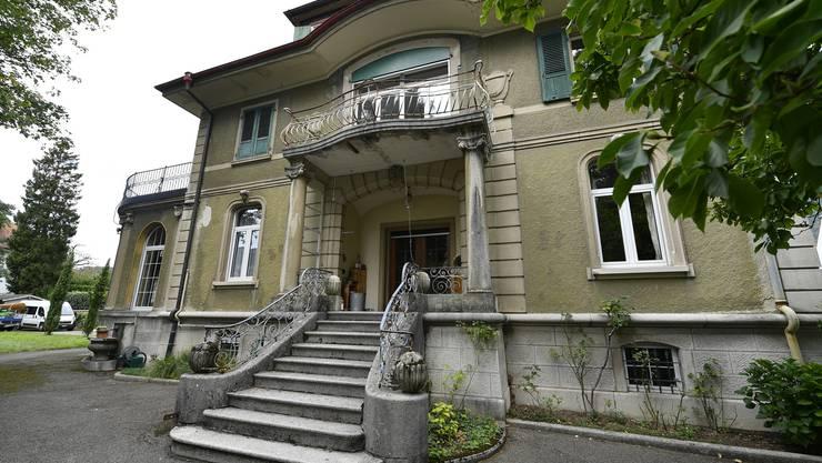 Villa der Familie Michel aus dem Jahr 1895: Die Aussenansicht der Südseite.