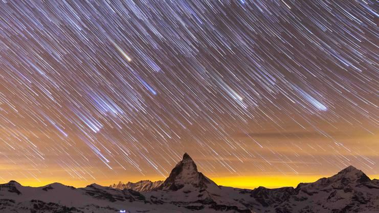 Einmal das Matterhorn hoch und runter.