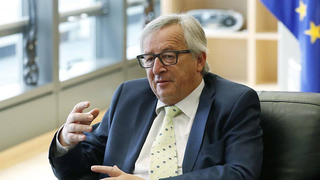 Krisensitzung in Brüssel: EU-Kommissionspräsident Jean-Claude Juncker fürchtet nach dem Brexit weitere Referenden.