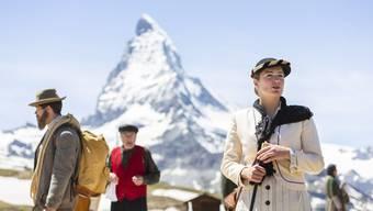 Zum dritten Mal schon verwandelt sich der Riffelberg am Fusse des Matterhorns in eine Freilichtbühne.