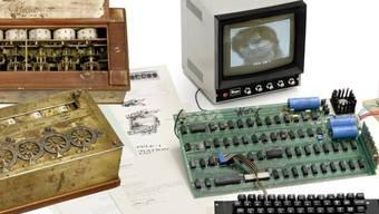 Ein Apple I-Computer (Quelle: Auktionshaus Breker)