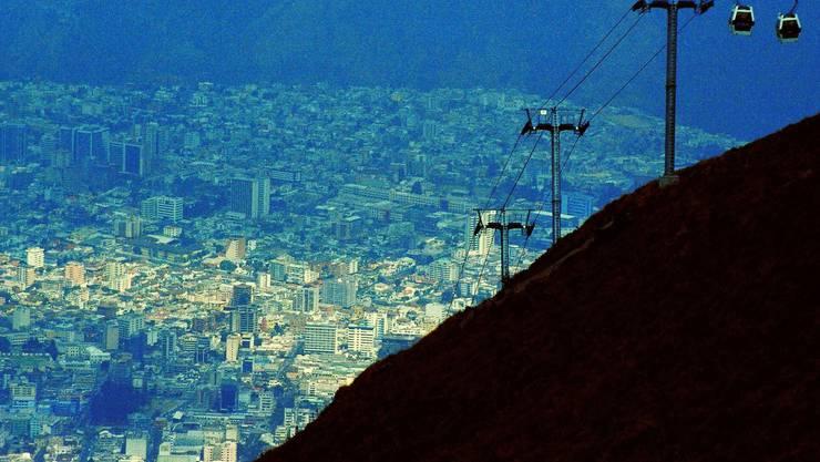 Quito, Hauptstadt von Ecuador: Dahin wanderte Silvio aus und kehrte vor kurzem in die Schweiz zurück. mad.