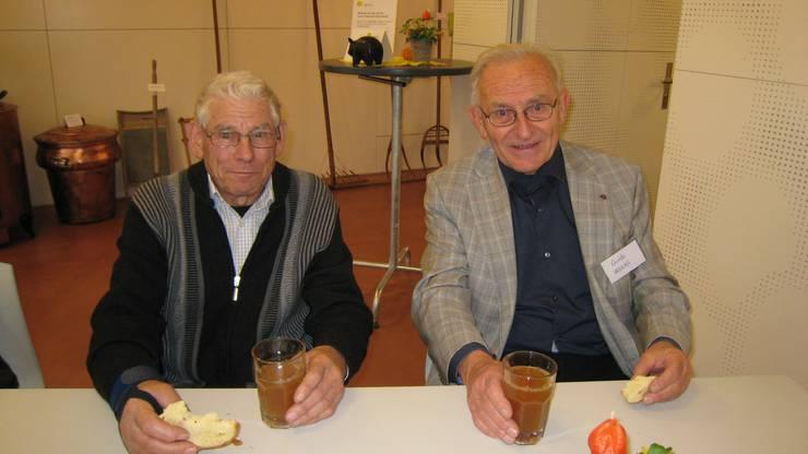 Christian Wüthrich und Guido Wälchli
