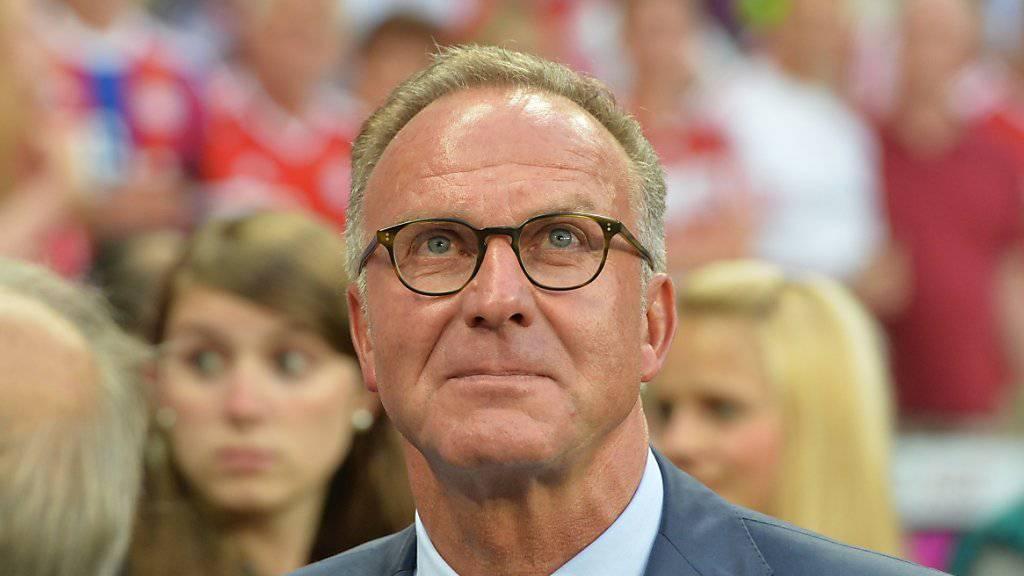 Karl-Heinz Rummenigge fordert mehr Respekt für Beckenbauer