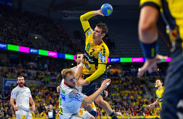 Löwen-Captain Andy Schmid ist er erfolgreichste Schweizer Handball-Export.