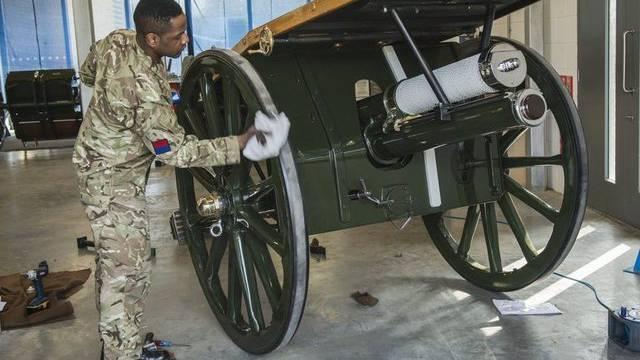 Vorbereitung auf die Trauerfeier für Margaret Thatcher: Über 14 Millionen Franken kostet die Zeremonie (Archiv)
