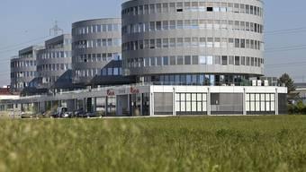 Der Transocean-Hauptsitz in Steinhausen im Kanton-Zug befindet sich im vordersten Bürogebäude (Archiv)