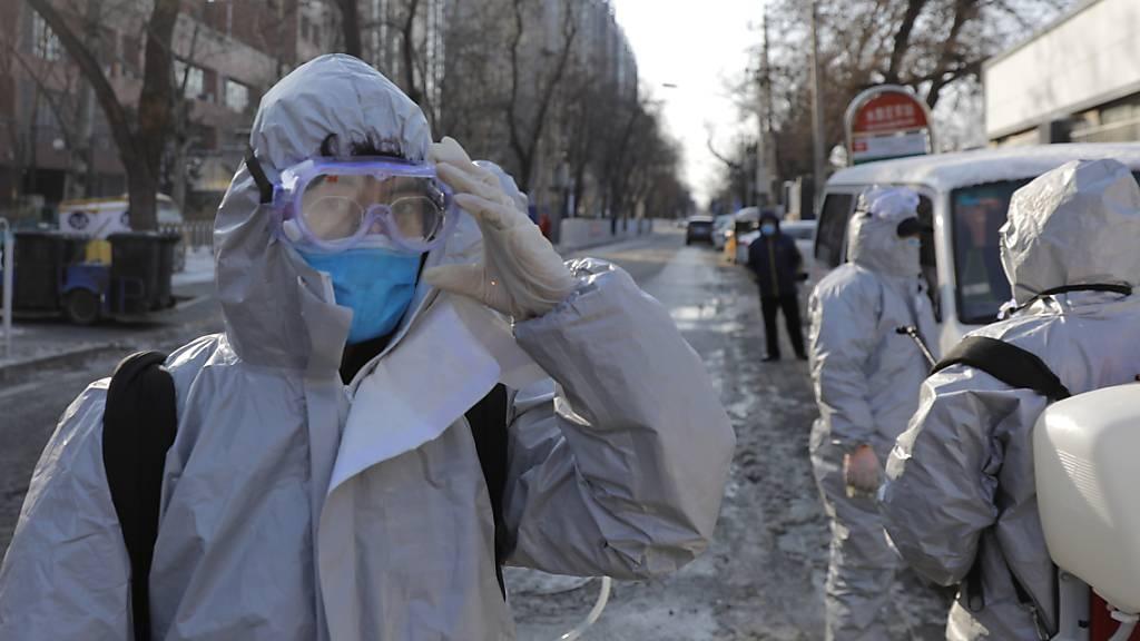 Zahl der Virusfälle in China übersteigt 70'000 - Jetzt 1770 Tote