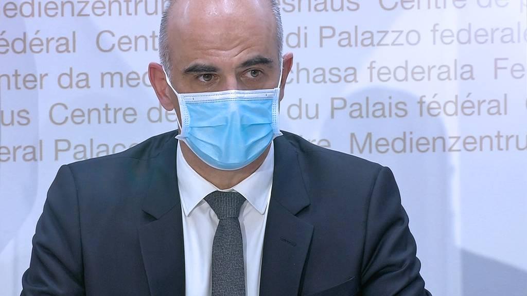 Coronavirus: Experten des Bundes informieren über die aktuelle Lage