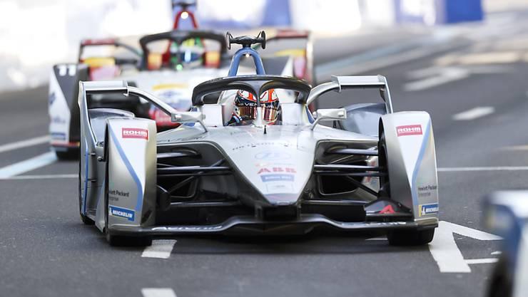 Wie am Freitag bester Schweizer: Der Genfer Edoardo Mortara fuhr in seinem Venturi im zweiten Saisonrennen auf den 5. Platz