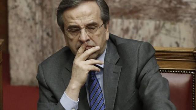 Unter Zeitdruck: der griechische Premierminister Antonis Samaras
