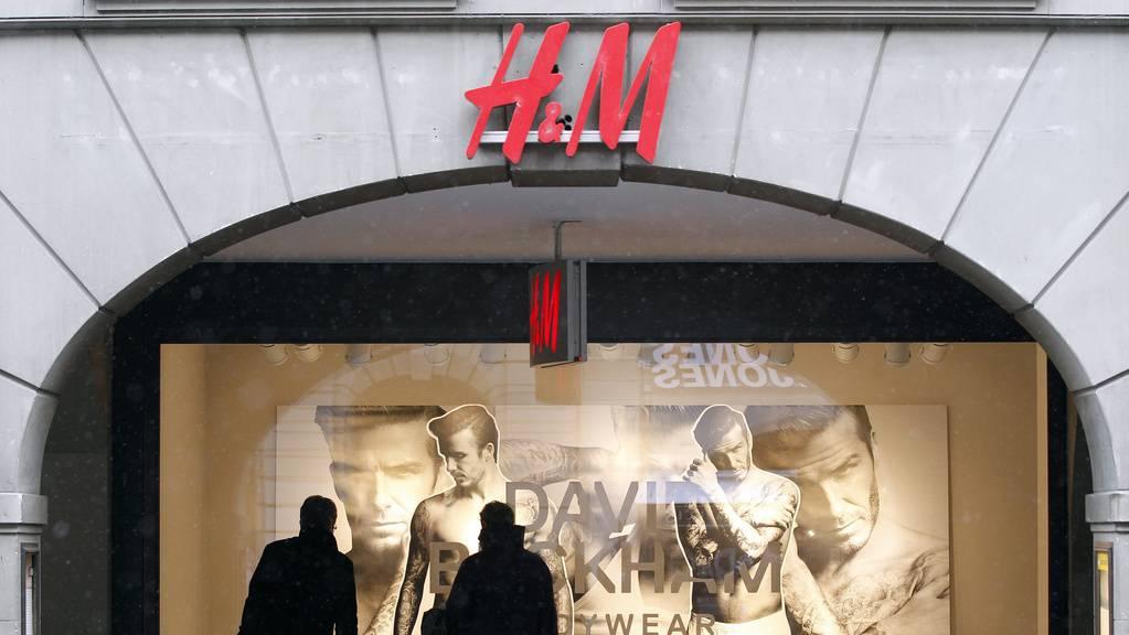 H&M Schweiz Schaufenster