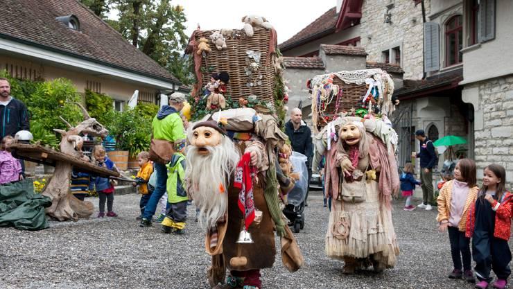 Schloss Wildegg wird zum Märchenland. Bild HO