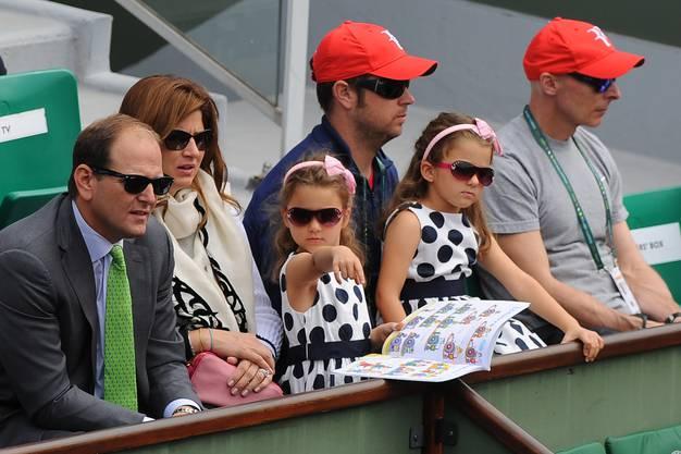 Roger Federer würde seine Kinder nur ungern im Tenniszirkus sehen.