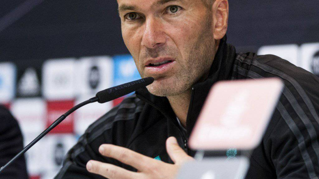 Madrider Erfolgscoach: Zinédine Zidane