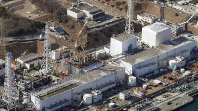 Die 2011 zerstörte Atomanlage in Fukushima