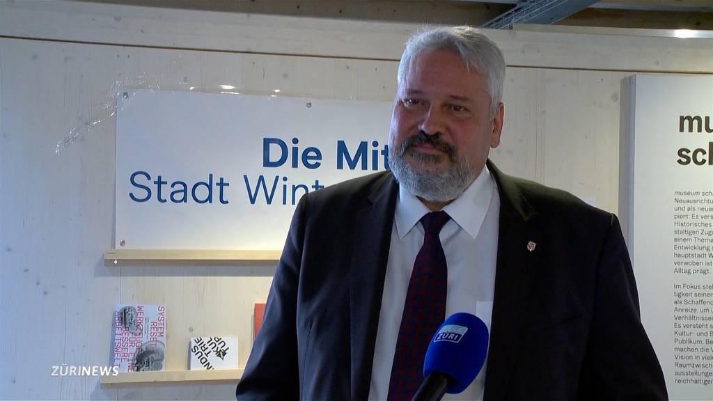 Michael Künzle will Stadtpräsident von Winterthur bleiben