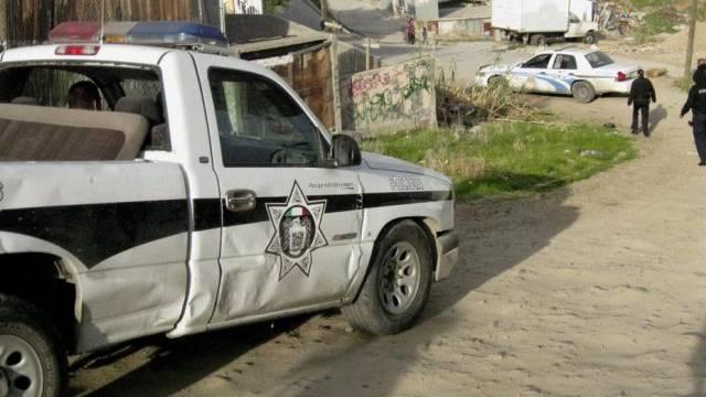 Mexikos Polizei im Einsatz gegen das Tijuana-Kartell (Archiv)