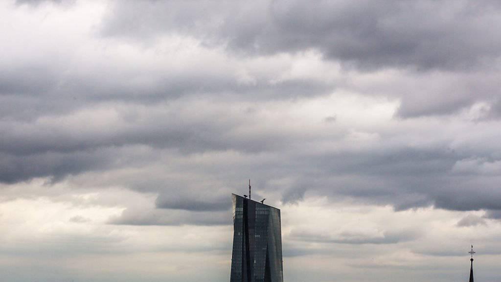 Die Politik der EZB schlägt nicht durch wie erwartet. (Symbolbild Hauptgebäude der EZB in Frankfurt)