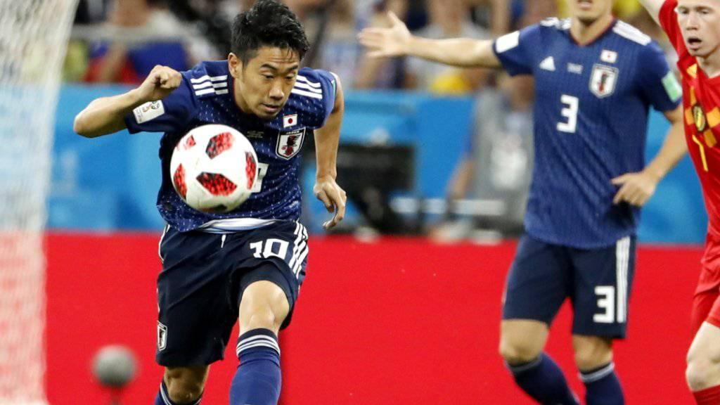 Shinji Kagawa stand an der WM 2018 in Russland für sein Heimatland Japan im Einsatz