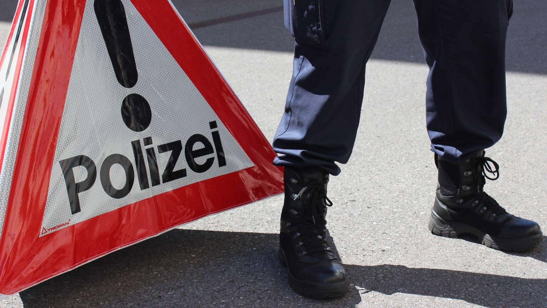 E-Bike-Dieb flieht in Ebikon vor Polizei
