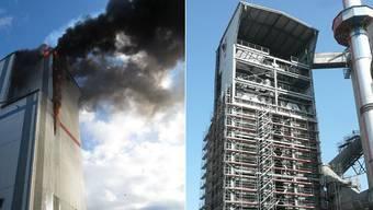 Abklärungen haben ergeben, dass die Stahlkonstruktion intakt ist.