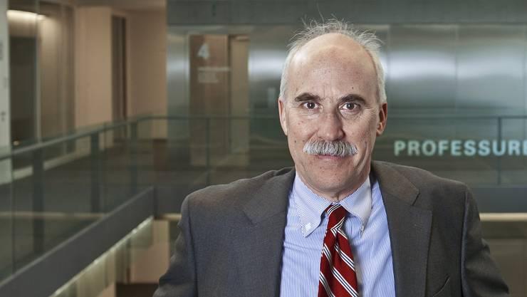 George Sheldon arbeitet als Professor an der Universität Basel. Er sieht der Zukunft nach der Pandemie zuversichtlich entgegen.