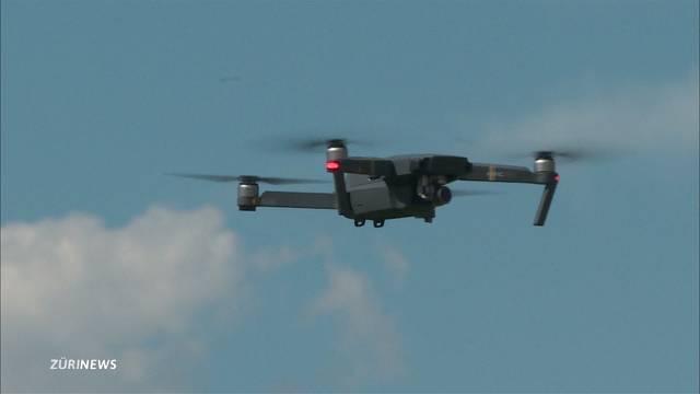Drohne verfehlt Flugzeug haarscharf