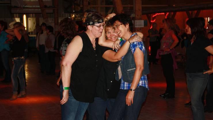 Viel Spass und Freude beim Line-Dance