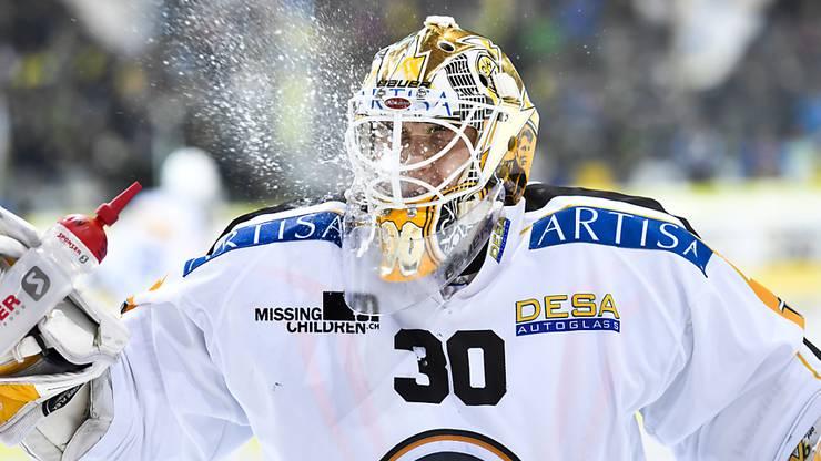 Elvis Merzlikins muss beim HC Lugano seine Playoff-Tauglichkeit unter Beweis stellen.