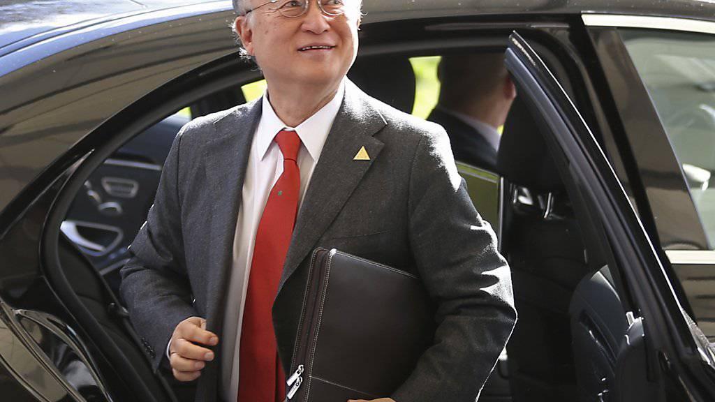 IAEA-Chef Yukiya Amano wird voraussichtlich im Dezember eine weitere vierjährige Amtszeit antreten. (Archiv)