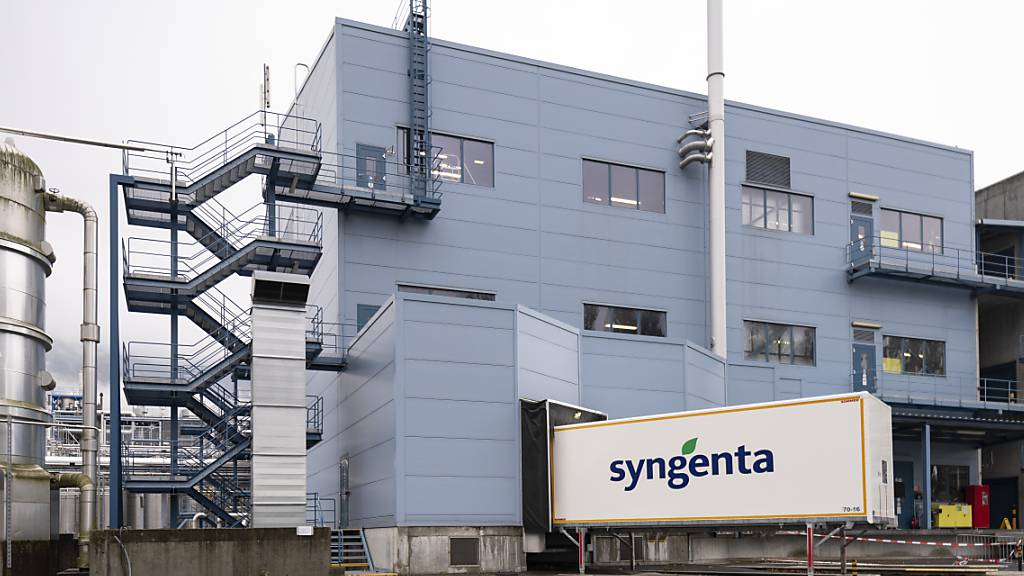 Die Syngenta-Gruppe ist 2020 in allen Weltregionen gewachsen - im Bild der Produktionsstandort in Monthey VS. (Archivbild)