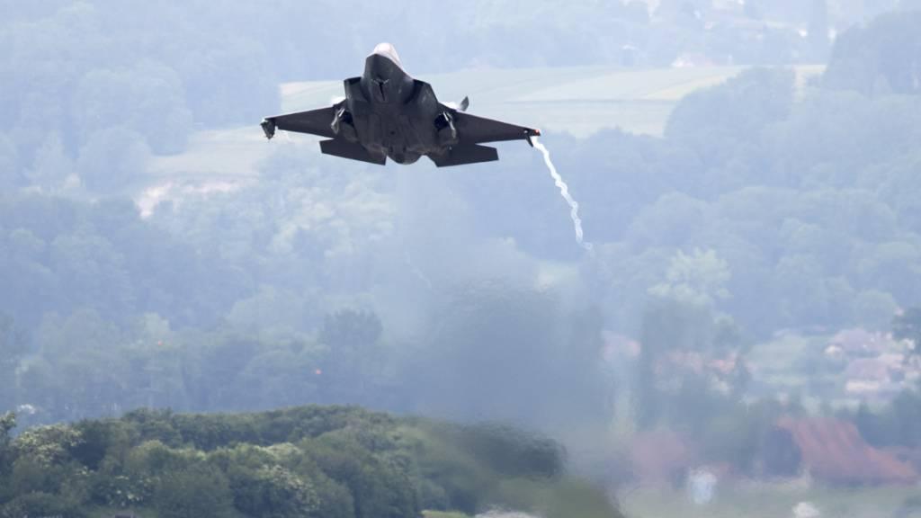 Gsoa, SP und Grüne wollen F-35-Kampfjet mit Initiative verhindern