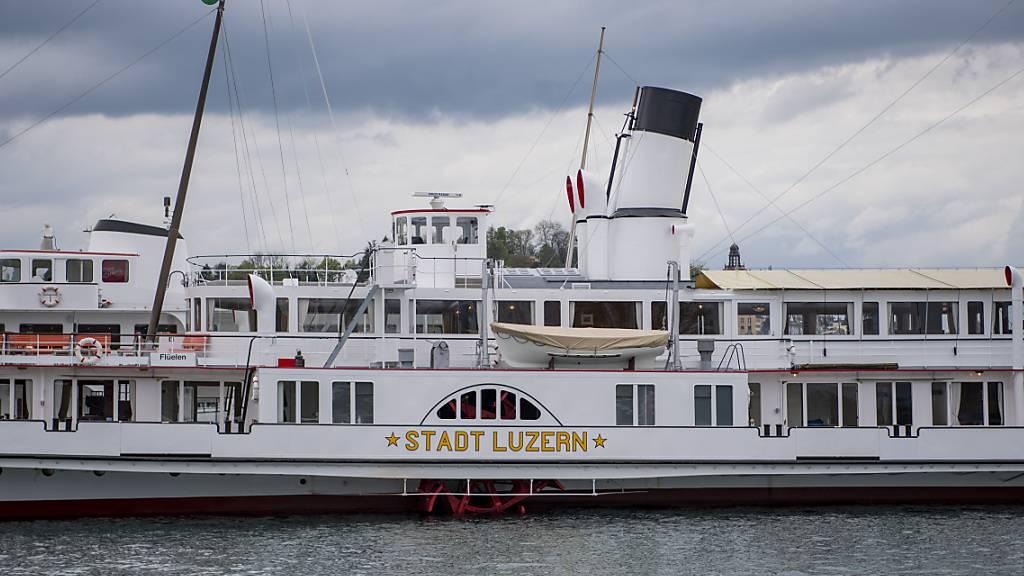 Die «Stadt Luzern» ist wieder auf dem Vierwaldstättersee unterwegs. (Archivbild)