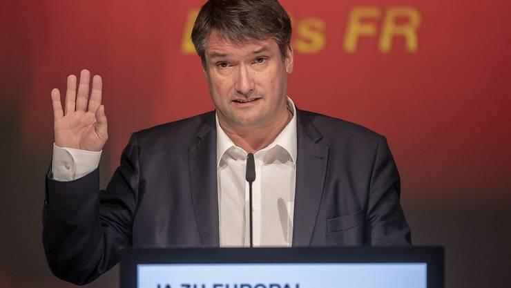 SP-Präsident Christian Levrat zeigt sich kompromissbereit gegenüber den Befürwortern eines Rahmenabkommens in seiner eigenen Partei.