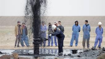 Ein Ölfeld in der irakischen Stadt Basra wird neu erschlossen. Der Irak ist einer der neuen Player auf dem Weltmarkt. Essam Al-Sudani/Reuters