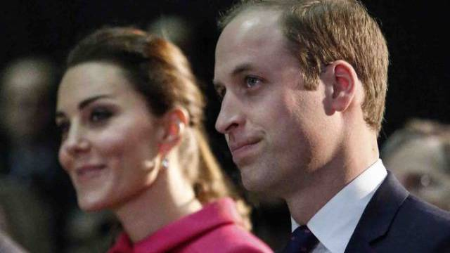 Prinz William und seine Gattin Kate